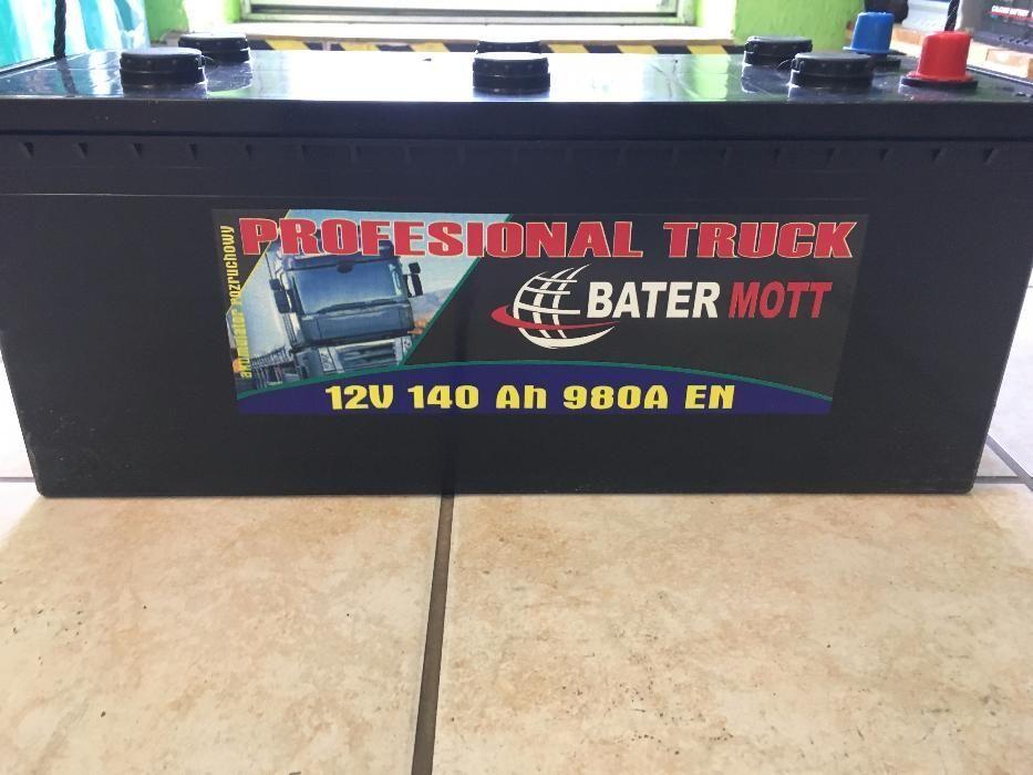 Akumulator BATERMOTT 140Ah 980A dla rolnictwa!!! Najniższa cena!!! Krapkowice - image 1