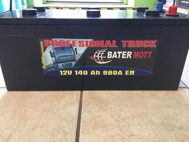 Akumulator BATERMOTT 140Ah 980A dla rolnictwa!!! Najniższa cena!!!
