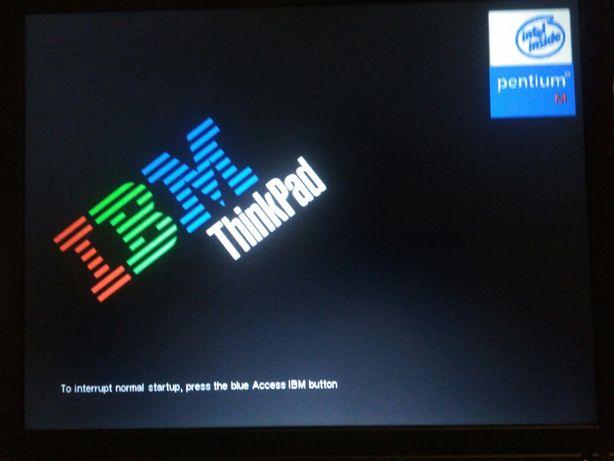Laptop IBM ThinkPad T40.