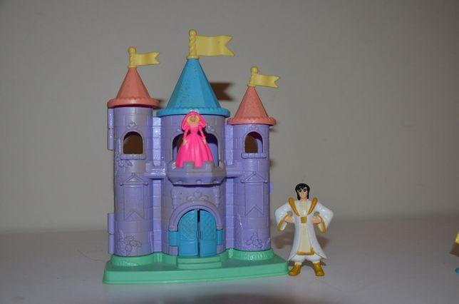 Mini domek pałac rozkładany dla małej laleczki
