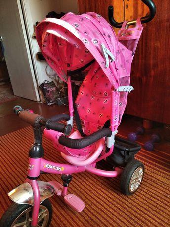Продам детский велосипед для девочки .