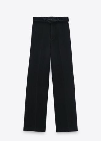 Широкие брюки штаны клеш палаццо Зара Zara S