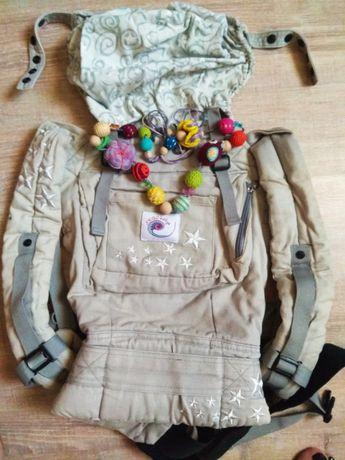 Продам слинг-рюкзак Ergo baby Carrier Galaxy
