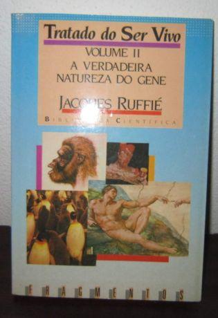 Livro Tratado do ser vivo - volume II - Jacques Ruffié - NOVO