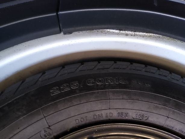 "BMW e39 Kolo dojazdowe felga 15"" Jak nowe"