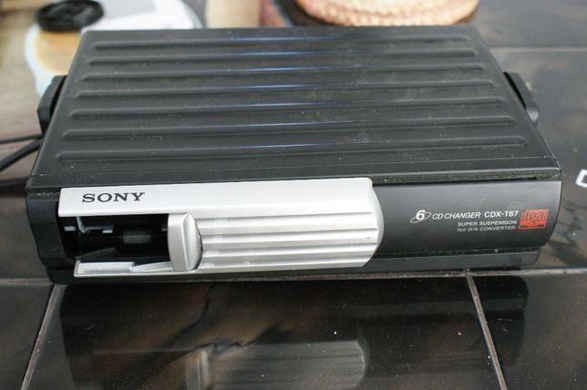 Zmieniarka płyt CD Sony do samochodu
