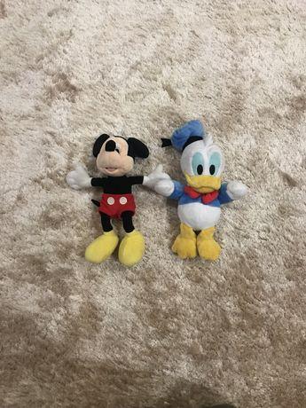 Peluches mickey mouse e pato donald da disney