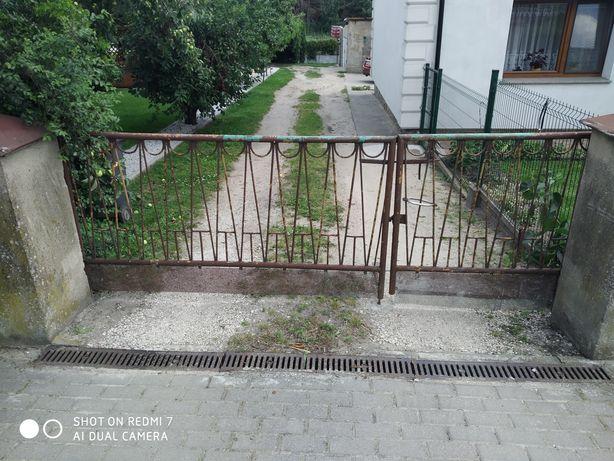 Przęsła, brama, ogrodzenie, furtka