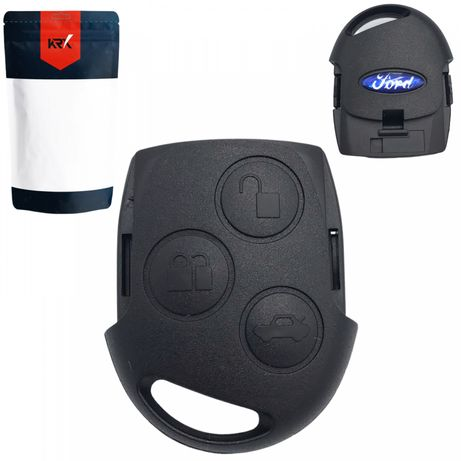 Корпус ключа на 3 кнопки Ford CMax Fiesta Focus Galaxy Mondeo Fusion