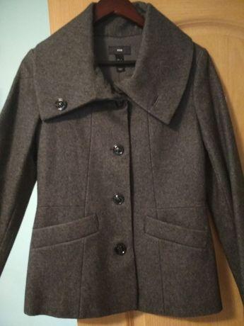 Krótki płaszcz damski 36 (z wełną!)