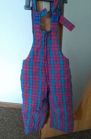 Spodnie od kombinezonu 2/3 lata 98/104
