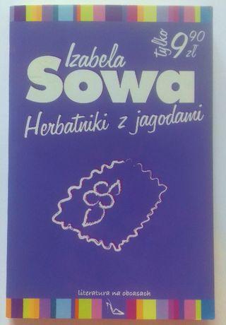 """Romans Izabela Sowa """"Herbatniki z jagodami"""""""