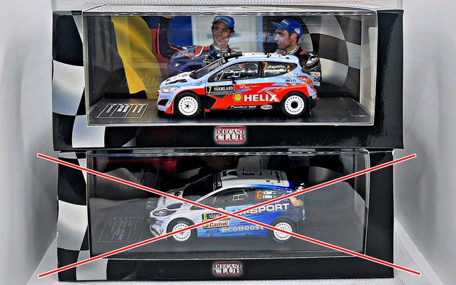Miniaturas Rally 1/43