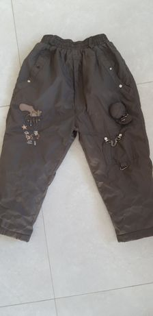 Spodnie ocieplane dla chlopca