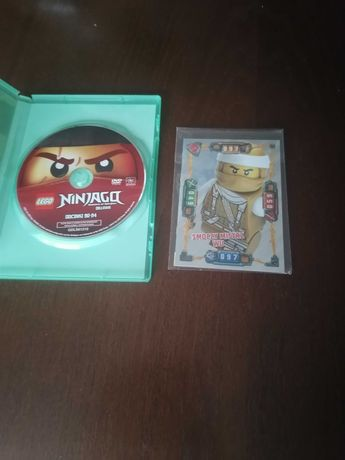 Płyta film lego ninjago czesc2