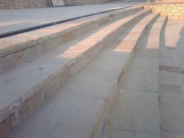 облицовка (монтаж) природного камня,а также керамической плитки