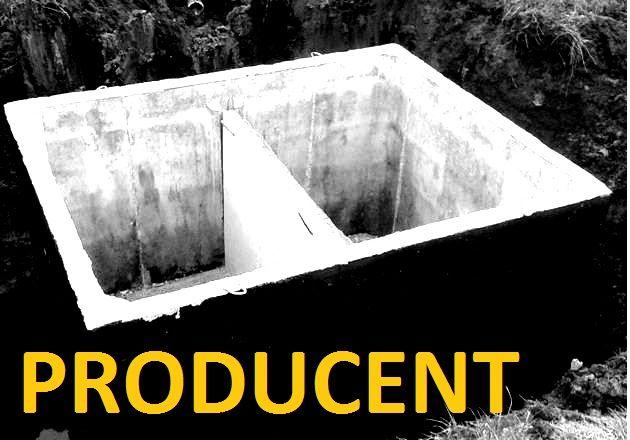 Mocny zbiornik betonowy na gnojówkę 8000 litrów szambo