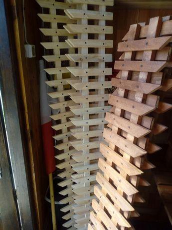 Płotki ogrodowe drewniane