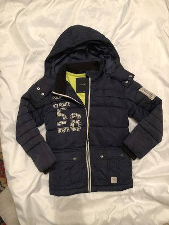 Зимняя куртка на мальчика Чарльз Фогеле  128 рост
