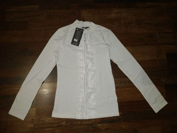 Новый гольф,  блузка в школу Турция р. 155-165