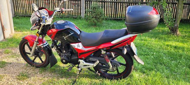 Motocykl Junak 122RS ZN125-10F (2015)