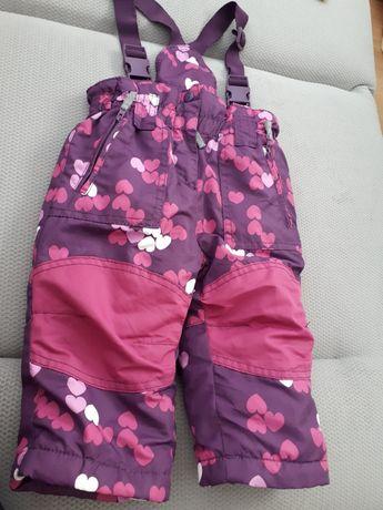 Spodnie kombinezon r.74