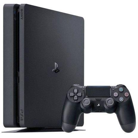 Sony PlayStation 4 slim + dualShock + аккаунт + ps plus до конца года