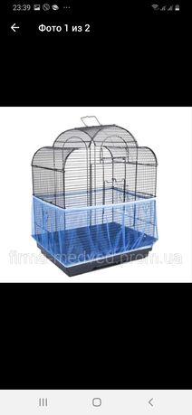 Защитная сетка от мусора для клетки птиц