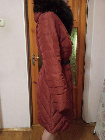 Пуховик зимний натуралный