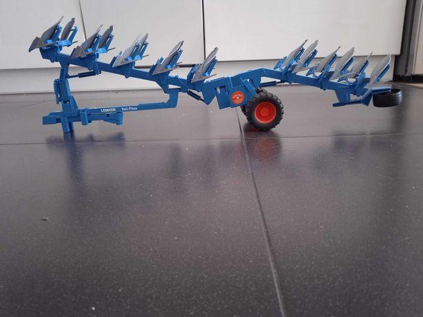 Bruder Pług obrotowy lemken  duży 8 skibowy
