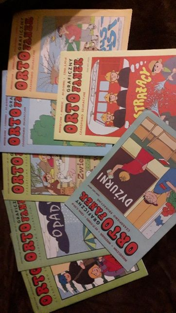 Graficzny Ortofanek - czasopismo drugoklasisty 2000, 2001, 2002, 2003
