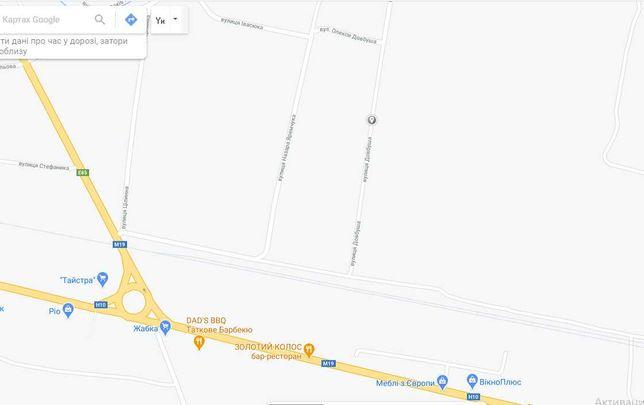 """Продається земельна ділянка в с.Мамаївці """"торг"""""""