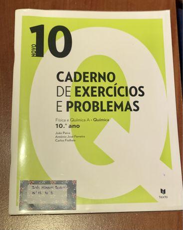 Física e Química A 10°ano- caderno de atividades