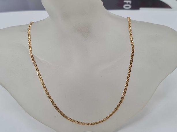 Piękny złoty łańcuszek damski/ 585/ 2.82 gram/ 45cm/ sklep Gdynia