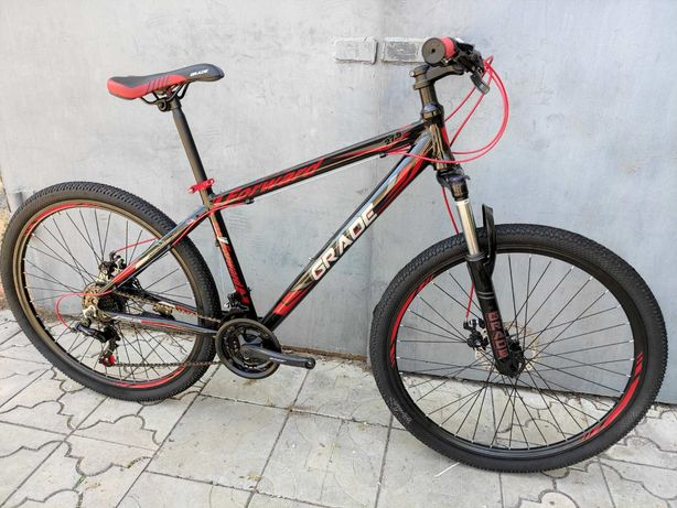 велосипед 27,5  Forward гибрид алюминий