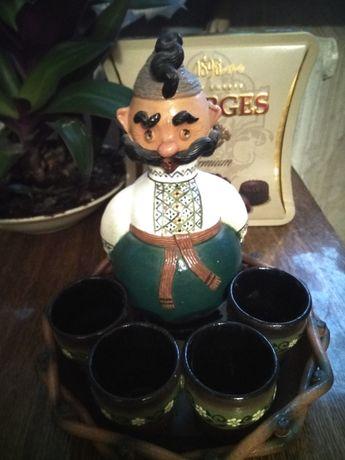 Керамический набор для крепких напитков