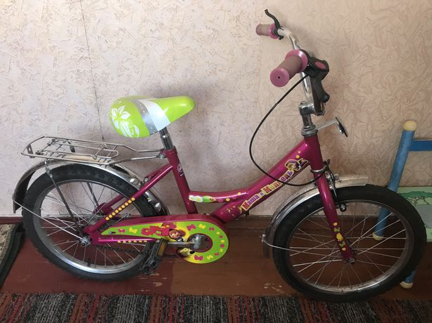 Детский велосипед Маша и медведи