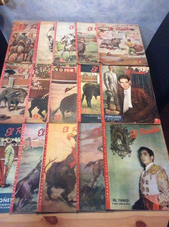 """Revistas antigas de tauromaquia """" El Ruedo """""""