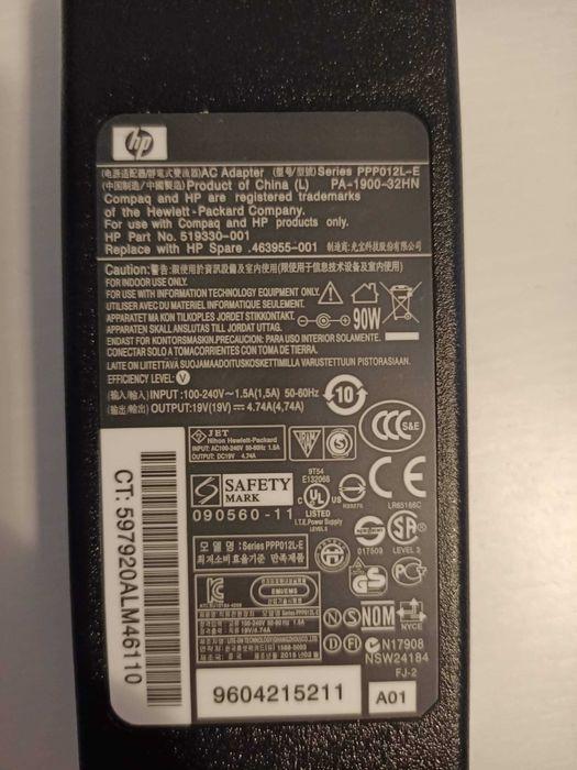 Nowy oryginalny zasilacz HP 90W 4.74A Marki - image 1