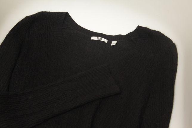 Uniqlo рр L свитер из вискозы шерсти и кашемира