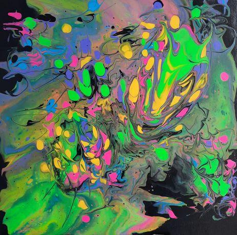 Непередбачувані картини Fluid Art