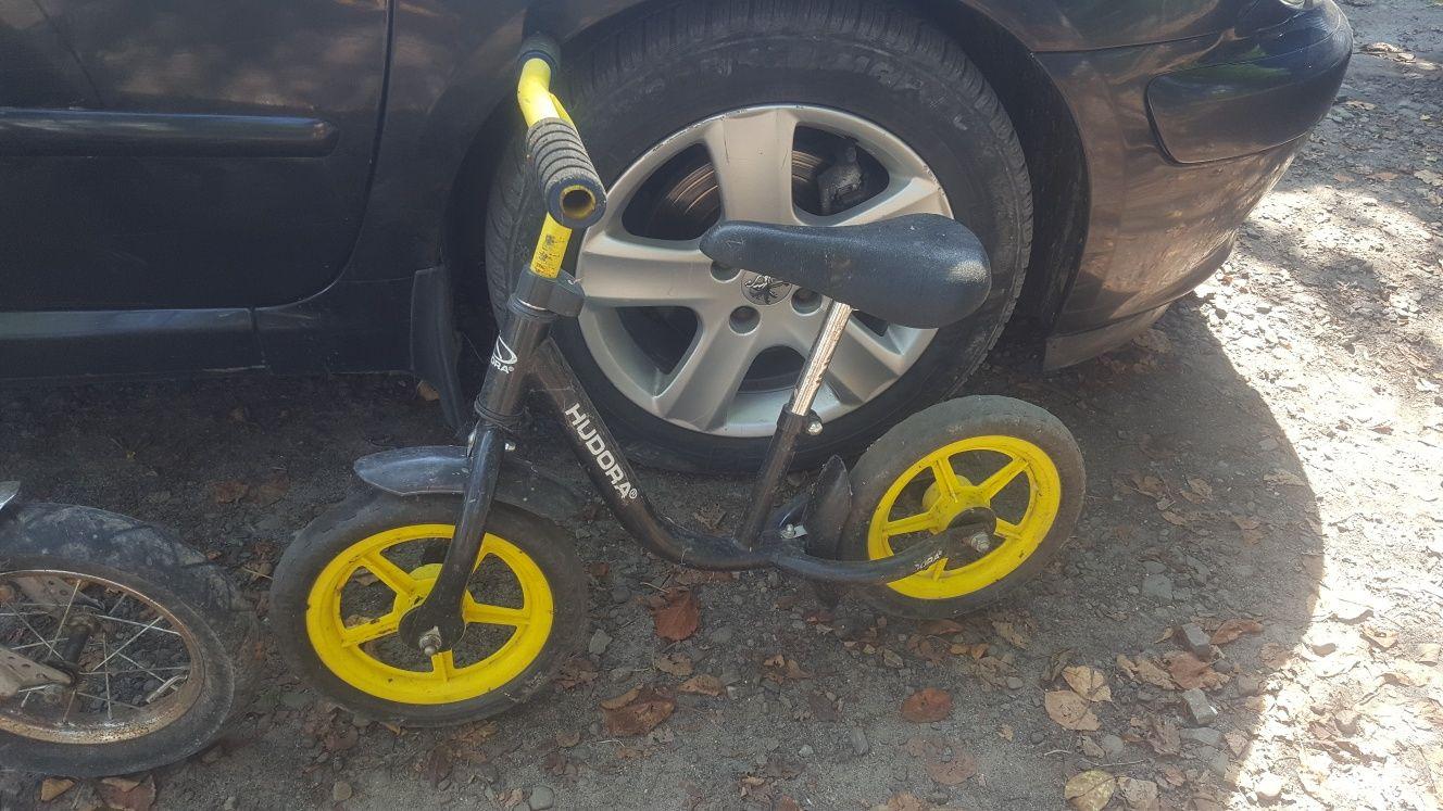 Велобіг, велосипед