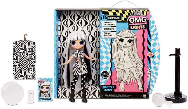 Кукла Лол ОМГ светящаяся Прекрасная леди Groovy Babe L.O.L. Surprise!