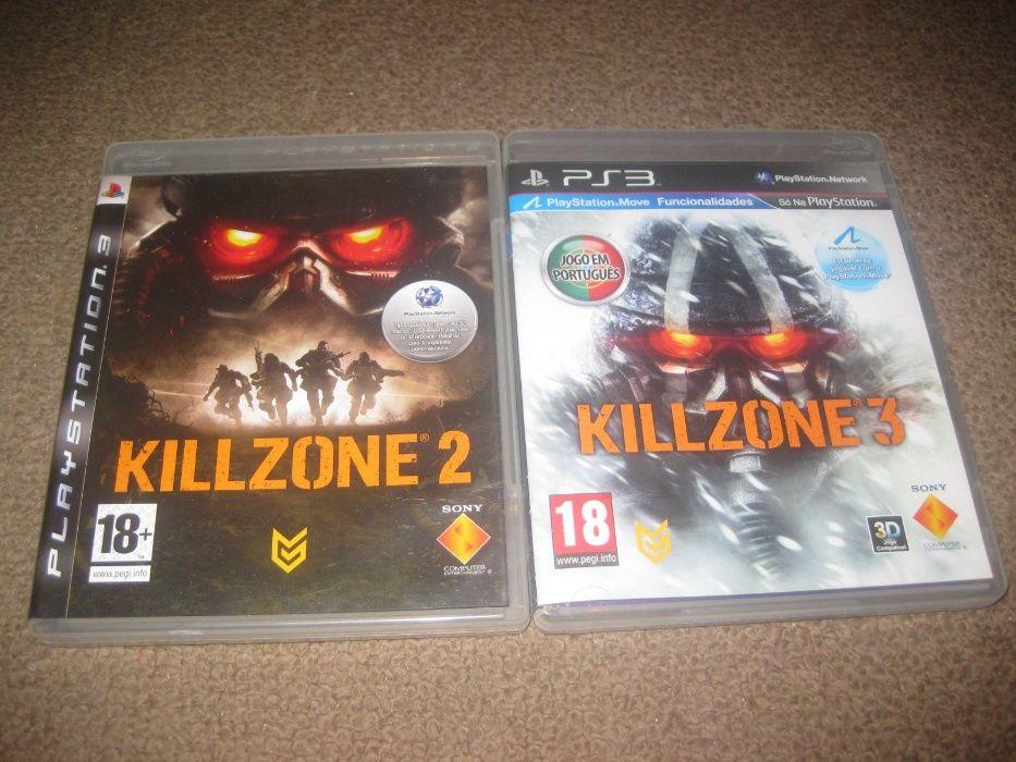 """2 Jogos """"Killzone"""" PS3/Impecáveis/Completos! Paços de Ferreira - imagem 1"""