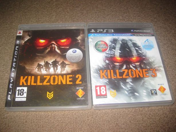 "2 Jogos ""Killzone"" PS3/Impecáveis/Completos!"