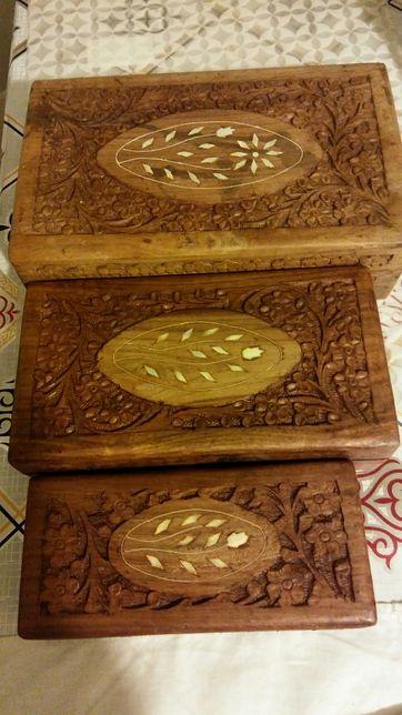Szkatulki handmade