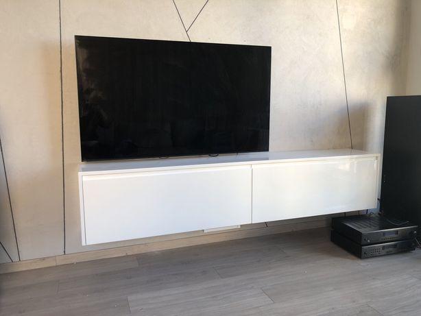 Szafka rtv tv pod telewizor biała