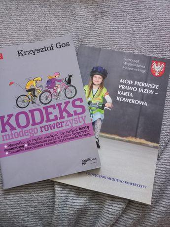 Kodeks młodego rowerzysty + podręcznik młodego rowerzysty
