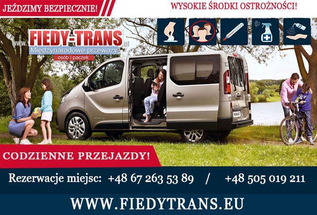 Busy do Niemiec Inowrocław przewozy do Belgii, Luksemburga