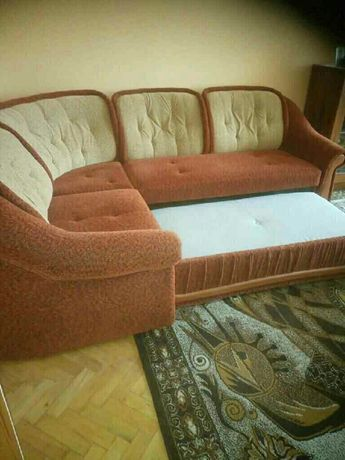 Narożnik + 2 fotele